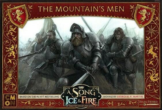 Le Trône de Fer: Le Jeu de Figurines - Les Hommes de la Montagne