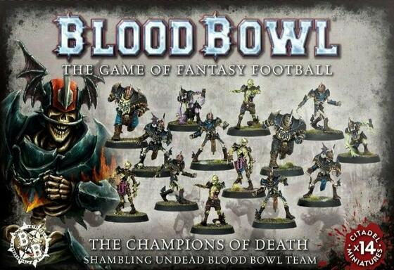 Blood Bowl: The Game of Fantasy Football - The Champions of Death