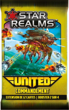 Star Realms: United - Commandement