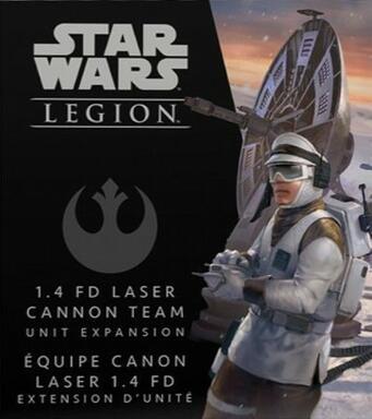 Star Wars: Legion - 1.4 FD Laser Cannon Team