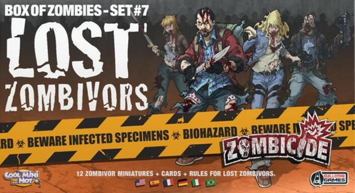 Zombicide: Box of Zombies Set #7 - Lost Zombivors