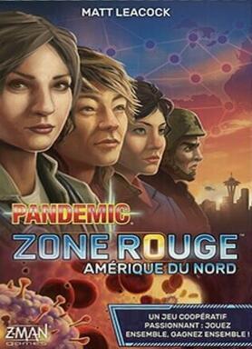 Pandemic: Zone Rouge - Amérique du Nord