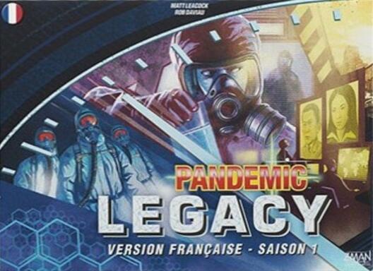 Pandemic Legacy: Saison 1 (Bleue)