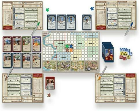 Rome & Roll: Extension Personnages