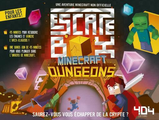Escape Box: Minecraft Dungeons