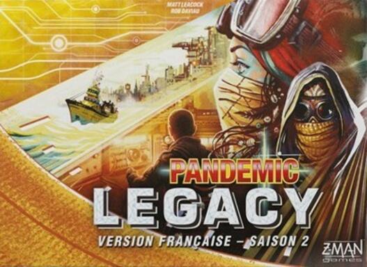 Pandemic Legacy: Saison 2 (Jaune)