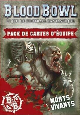 Blood Bowl: Le Jeu de Football Fantastique - Pack de Cartes d'Équipe - Morts Vivants