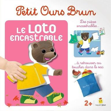 Petit Ours Brun: Le Loto Encastrable