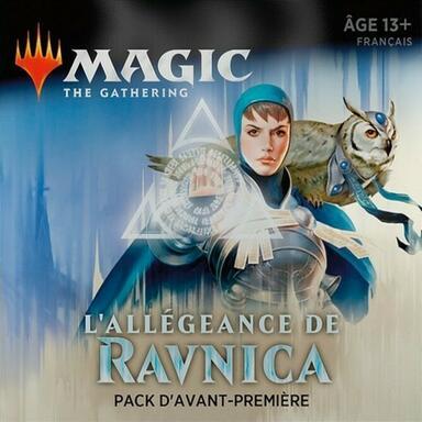 Magic: The Gathering - L'Allégeance de Ravnica - Azorius - Pack d'Avant-Première