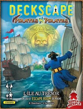 Deckscape: Pirates vs Pirates - L'Île au Trésor