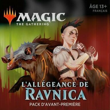 Magic: The Gathering - L'Allégeance de Ravnica - Gruul - Pack d'Avant-Première