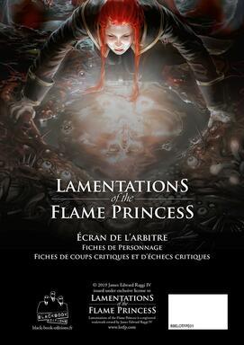 Lamentations of the Flame Princess: Écran de l'Arbitre