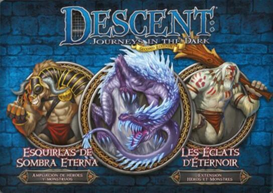 Descent: Voyages Dans les Ténèbres (Seconde Édition) - Les Éclats d'Éternoir
