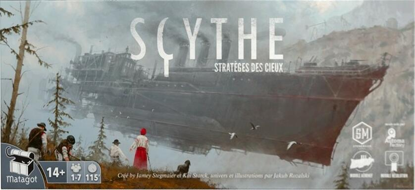 Scythe: Stratèges des Cieux