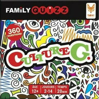 Family Quizz: Culture G