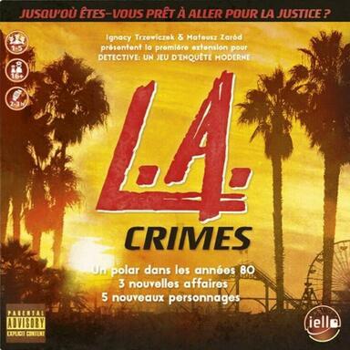 Détective: Un Jeu d'Enquête Moderne - L.A. Crimes
