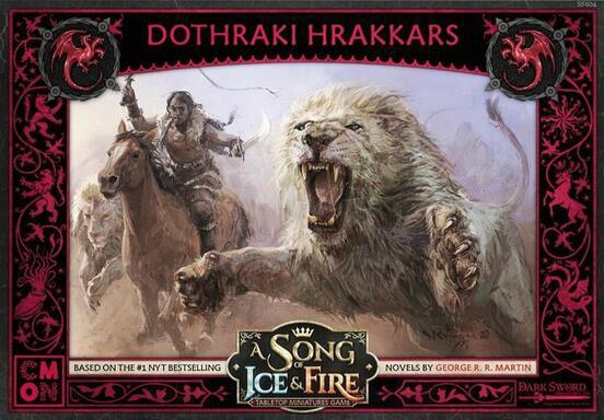 Le Trône de Fer: Le Jeu de Figurines - Hrakkars Dothraki