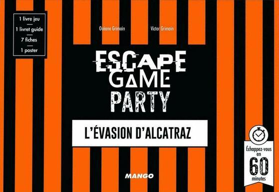 Escape Game Party: L'Evasion d'Alcatraz