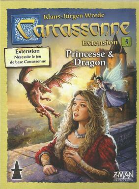 Carcassonne: Extension 3 - Princesse & Dragon