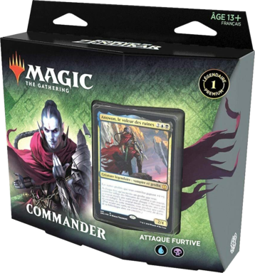 Magic: The Gathering - Commander - Attaque Furtive