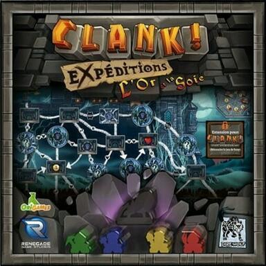 Clank ! Les Aventuriers du Deck-Building - Expéditions - L'Or et la Soie