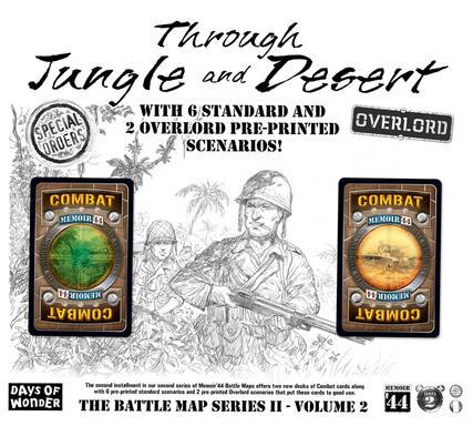 Memoir '44: The Battle Map 2 - Volume 2 - Through Jungle and Desert