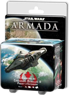 Star Wars: Armada - Escadrons de Chasseurs Rebelles II
