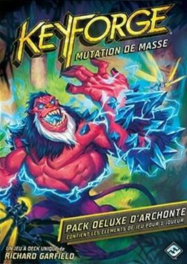 Keyforge: Mutation de Masse - Le Pack Deluxe d'Archonte