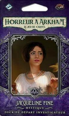Horreur à Arkham: Le Jeu de Cartes - Jaqueline Fine