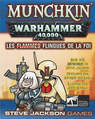 Munchkin: Warhammer 40,000 - Les Flingues de la Foi
