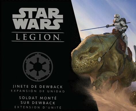 Star Wars: Légion - Soldat Monté sur Dewback