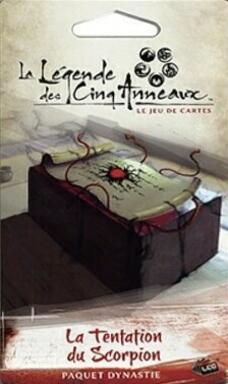 La Légende des Cinq Anneaux: Le Jeu de Cartes - La Tentation du Scorpion