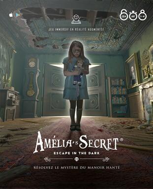Amelia's Secret: Escape in the Dark
