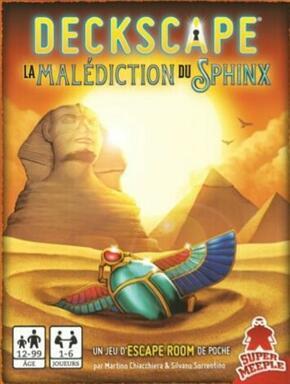 Deckscape: La Malédiction du Sphinx