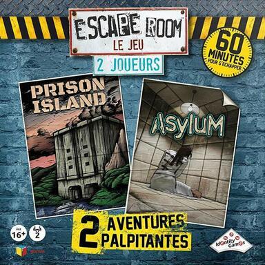 Escape Room: Le Jeu - 2 Joueurs - Prison Island/Asylum