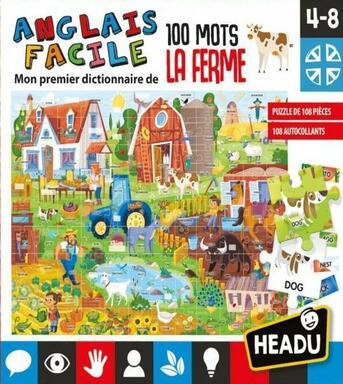 Anglais Facile: 100 Mots La Ferme