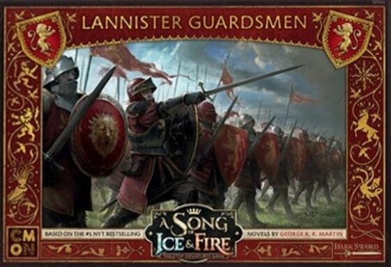Le Trône de Fer: Le Jeu de Figurines - Gardes Lannister