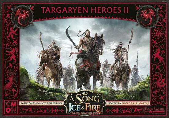 Le Trône de Fer: Le Jeu de Figurines - Héros Targaryen II