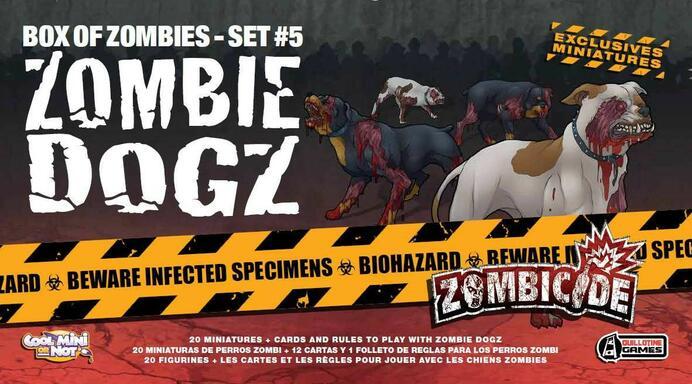 Zombicide: Box of Zombies Set #5 - Zombie Dogz