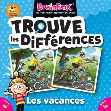BrainBox: Trouve les Différences - Les Vacances