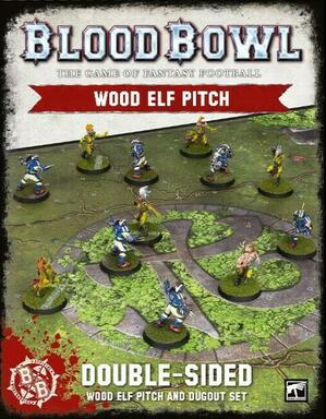 Blood Bowl: The Game of Fantasy Football - Wood Elf Pitch
