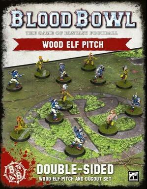 Blood Bowl: Le Jeu de Football Fantastique - Wood Elf Pitch
