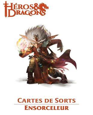 Héros & Dragons: Cartes de Sorts - Ensorceleur