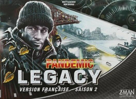 Pandemic Legacy: Saison 2 (Noir)