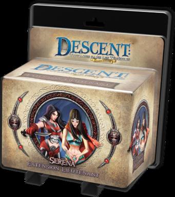 Descent: Voyages Dans les Ténèbres (Seconde Édition) - Serena