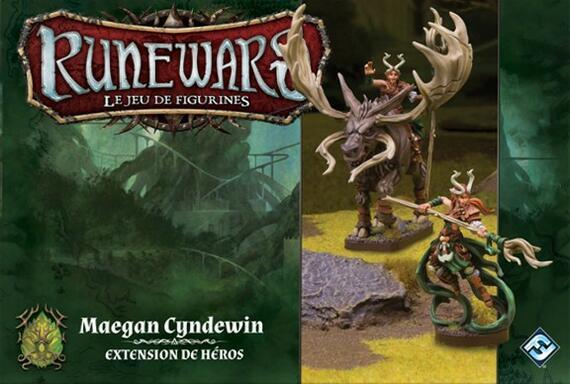 Runewars: Le Jeu de Figurines - Maegan Cyndewin