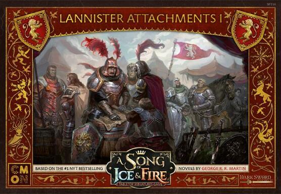 Le Trône de Fer: Le Jeu de Figurines - Attachements Lannister I