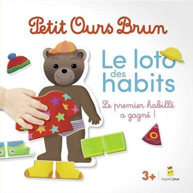 Petit Ours Brun: Le Loto des Habits