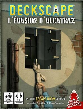 Deckscape: L'Évasion d'Alcatraz
