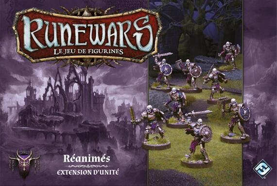 Runewars: Le Jeu de Figurines - Réanimés
